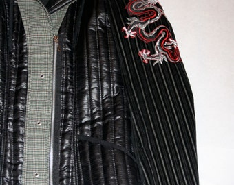 Sweet Vintage Quilted Fitted Jacket- Size S/M