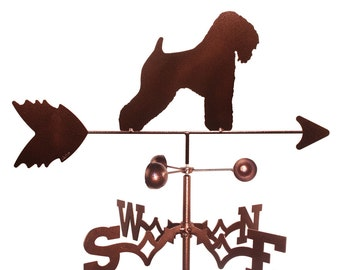 Hand Made Wheaten Terrier Dog Weathervane NEW