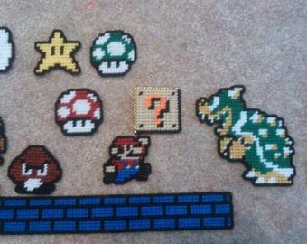 Video Game Magnets - Mario Bros, Kirby, Tetris, Final Fantay, Mega Man