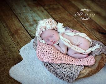 Chunky Baby  Blanket Newborn Baby Photography Prop  Blankets Photo Prop  Basket Filler Basket Stuffer