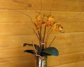 Shiny Copper Orchid ( part of the flowers never fade collection ) #9200ax