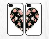 Best Friend Gift iPhone 6s Case iPhone 6 Case Mom Gift Sister Gift Floral iPhone 5 Case Heart iPhone 6 Plus Case Samsung Galaxy S4
