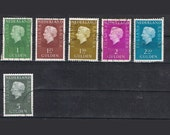 95  Postage Stamps - European Female Royalty - Belgium Netherlands Luxembourg