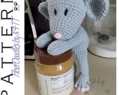 INSTANT DOWNLOAD : KISS Series - Mouse Crochet Pattern