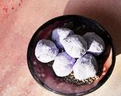 Luxurious Lavender Bath Bon Bons - Natural Ingredients - Bath Fizzy Bombs with Jojoba Oil