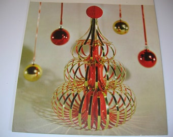 Vintage Hallmark Christmas Centerpiece Decoration