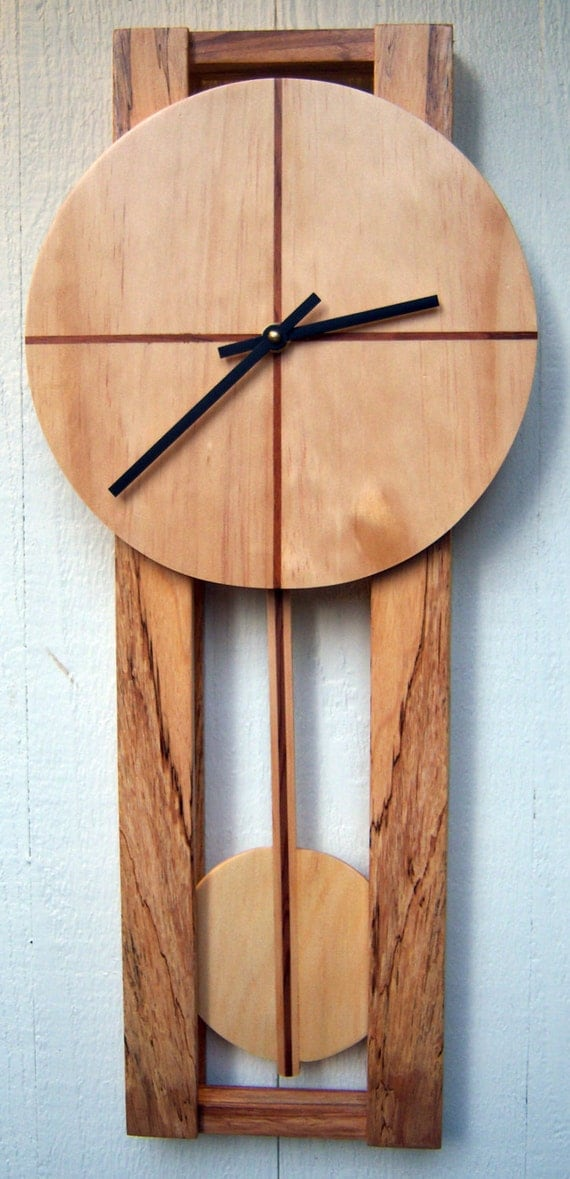 Modern Pendulum Wall Clock By Djwubs On Etsy