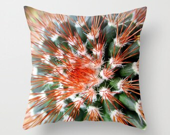 Cactus Pillow, Throw Pillow, Southwest Decor