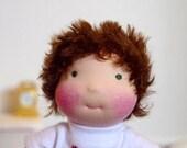 "Leo 11"" waldorf inspired doll by Hippie House Dolls"