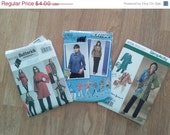 ON SALE SALE Lot of Womens Sewing Patterns Plus Size  L Xl Xxl
