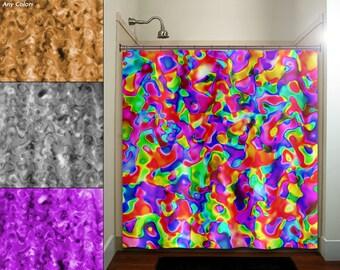 Annoying Optical Illusion Zen Shower Curtain Bathroom Decor