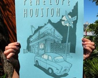 Penelope Houston Print