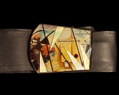 Kandinsky Belt Buckle...