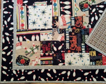 Bowling Quilt - It's A Strike!