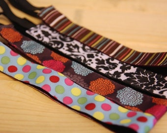 "Non-Slip Headband 7/8"" - Select Designs"