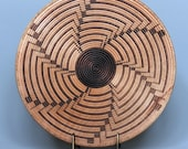 Turned Wooden Indian Basket Illusion