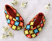 Easy Baby Shoe Pattern- Kawaii Kimono Shoes