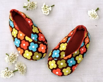 Easy Baby Shoe Pattern- Kawaii Kimono Shoes