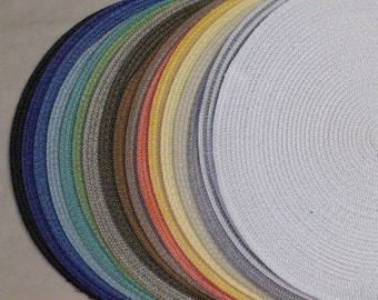 Hat Brim- Straw Mat with Smooth Edge