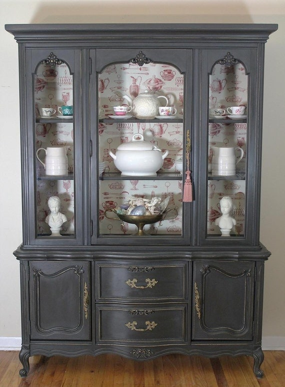 French Country China Cabinet Annie Sloan