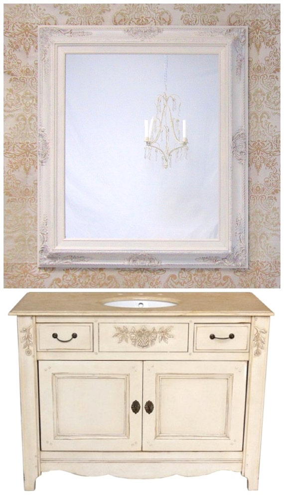 Bathroom vanity mirrors for sale french country by French provincial bathroom vanities