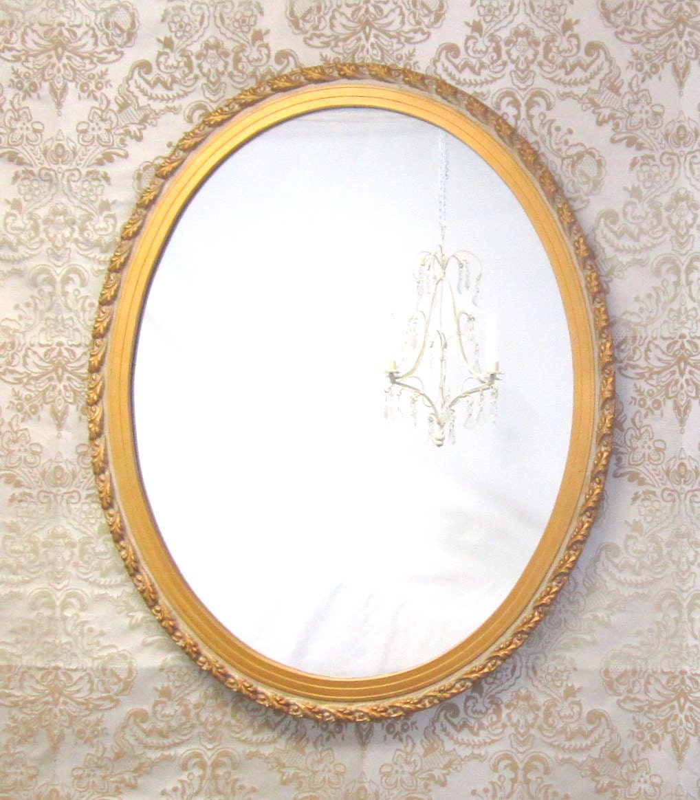 Large vintage mirror for sale vanity oval mirror by for Big mirrors for sale