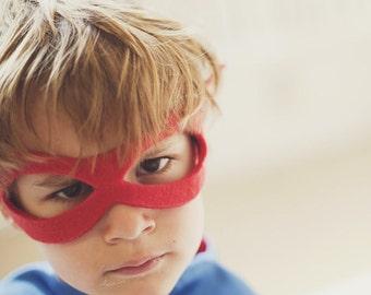 BEST SELLING Superhero MASK Set of 5 -  Lightning bolt masks and sparkle hero masks - Birthday Party Favors - Superhero Party Favors