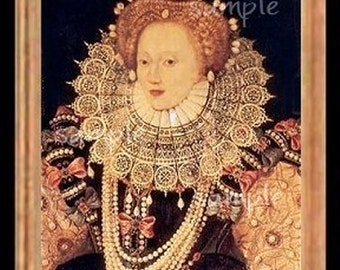 Queen Royalty Miniature Dollhouse Art Picture 5120