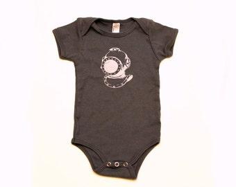 Diver Baby Bodysuit