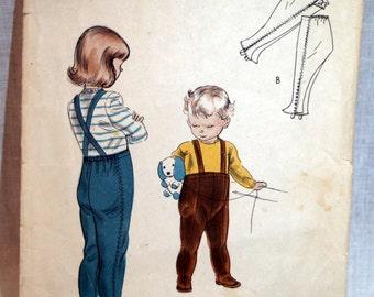 Vogue 1940s Leggings pattern Children - 2465