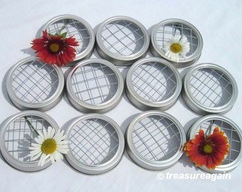 11 Vase Lids Mason Jar Frogs for Mason Jar Flower Vases