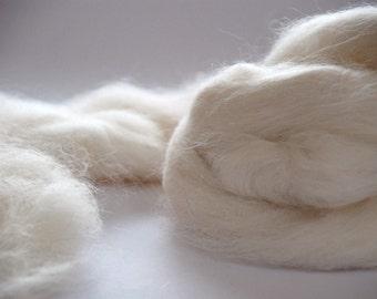 ALPACA FIBER  - white natural