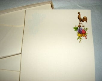 Vintage Box of Current Colonials Note Paper Writing paper and envelopes WAS 10.00