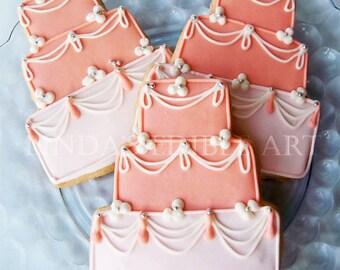 Fancy French Cake Cookie 1 Dozen (12)  w