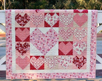 Love Letters PDF Quilt pattern - Immediate Download