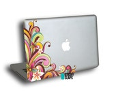Macbook decals , Macbook Air Sticker, Available for Pro Retina models Laptops -colorful Funkadelic