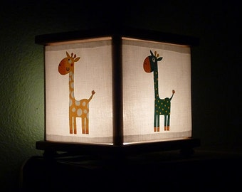 Giraffe Night Light Lamp Giraffes Lighting Decor
