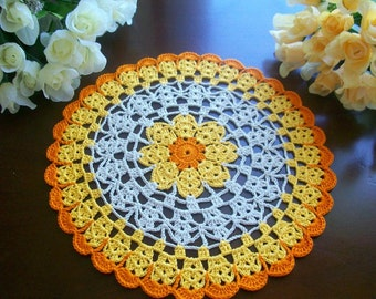 NEW handmade thanksgiving doily crochet lace.no-1