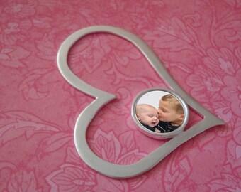 Photo Pendant Jewelry Heart