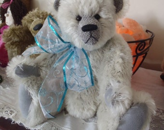 Teddy Bear Gage 14 inch one of a kind German mohair Artist Bear