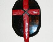 Vampire Killing Cross Stake by CRYSTOBAL, original wall hanging Halloween slayer kit cross