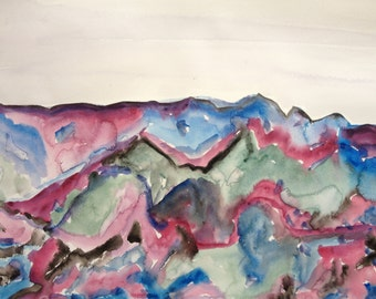 Colored landscape 2
