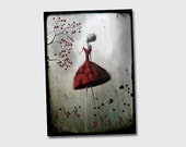 The queen of heart - 8x11 or 16,5x11 inches fine art print-  Signed - Printed by a professional