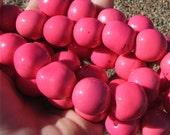 Bombona Beads, Pambil Beads, Pink Beads, Organic Beads, Natural Beads, Palm Beads, EcoBeads