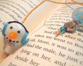 Snowman book thong