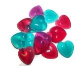 Aromatherapy Heart Soap | Heart Party Favor Soap | Small Heart Soap Scented | Heart Guest Soap | Glycerin Soap |  Heart Wedding Favor Soap