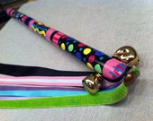WAND Unique One of a Kind Hand painted Fairy / Princess / RiBboNs, BeLLS/ Dance Spin Twirl Best Teaching Tool / Teachers / Children CHEERFUL