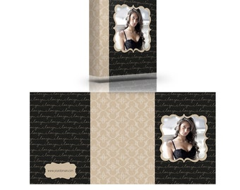 Instant Download - MPixPro Custom Image Box Template - SAMANTHA Boudoir Collection - Templates for Photographers