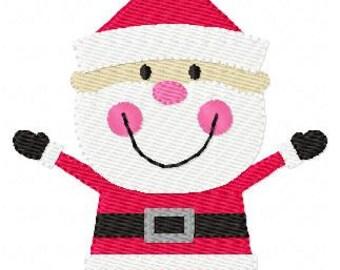 Santa Claus // Christmas // Machine Embroidery Design // Joyful Stitches