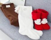 no 21  Women Fleece Boots PDF Pattern (US size 5-10)
